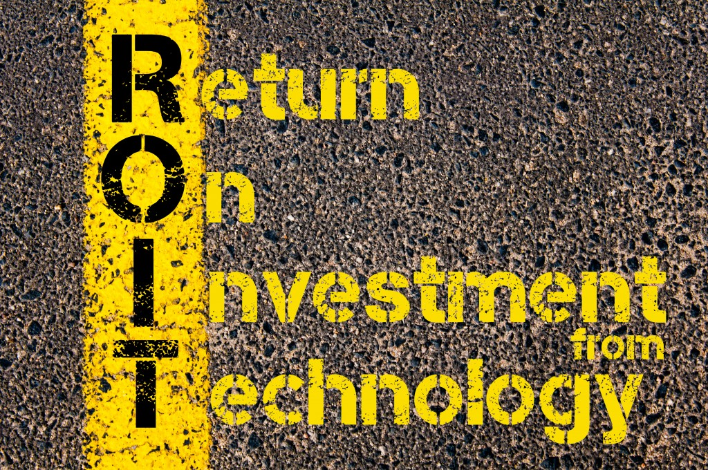 Accounting Business Acronym ROIT Return On Investment from Technology